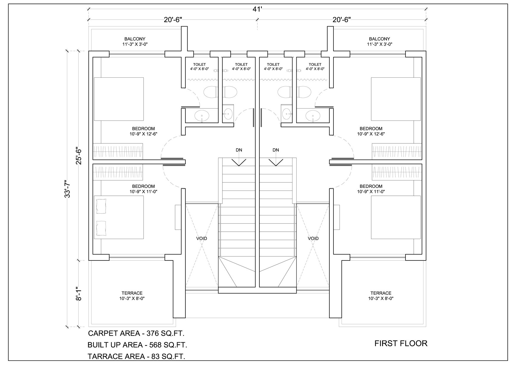 Kalpak Developers Row House Floor Plans
